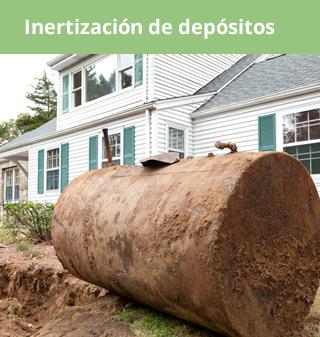 inertizacion depositos