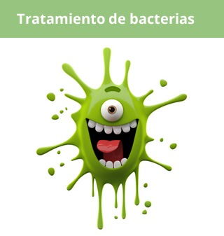 tratamiento bacterias