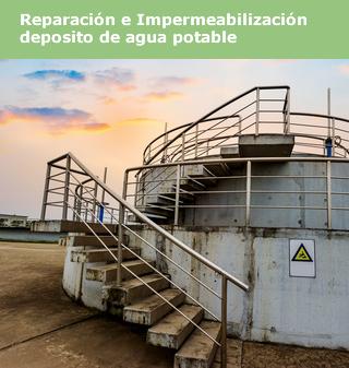 Reparación y impermeabilizacion